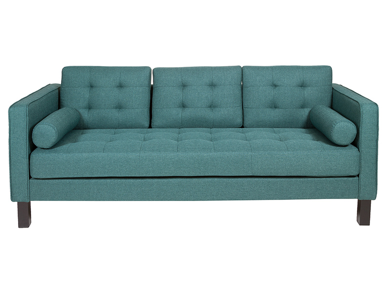 Image of   2 personers sofa (203 x 81 x 81 cm) Fyr Polyester Grøn