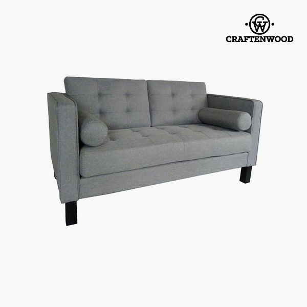 Image of   2 personers sofa Fyr Polyester Grå (149 x 81 x 81 cm) by Craftenwood
