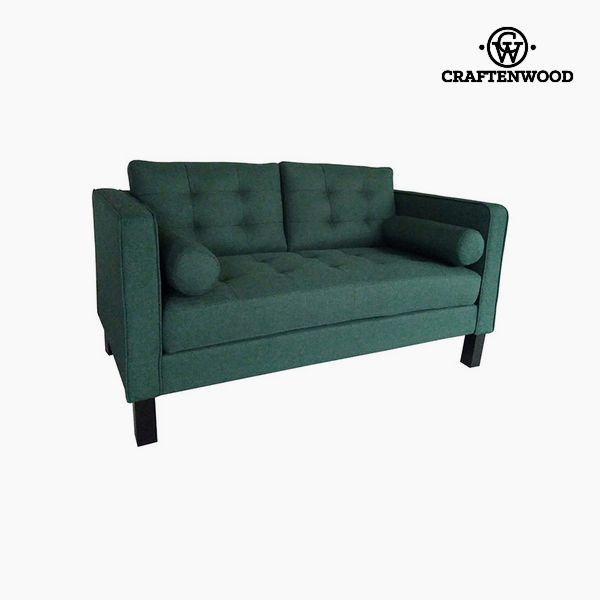 Image of   2 personers sofa Fyr Polyester Grøn (149 x 81 x 81 cm) by Craftenwood