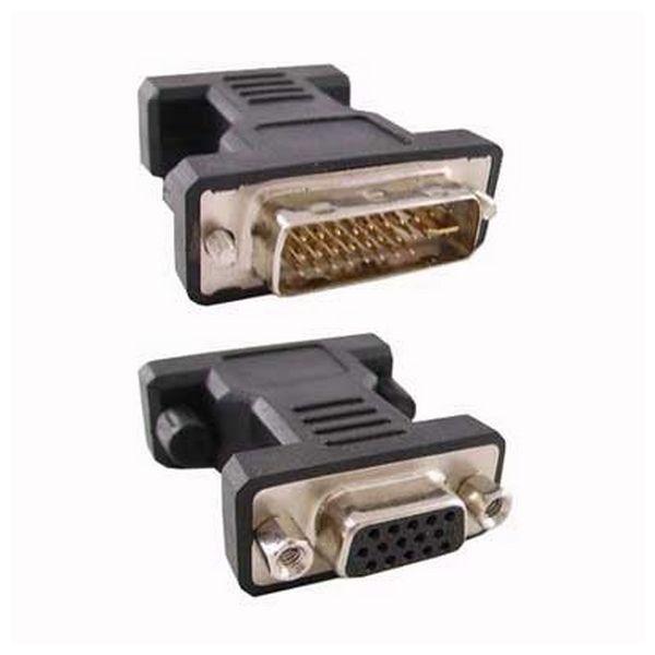 Image of   24 + 5 DVI Converter to VGA HDB 15 NANOCABLE 10.15.0704 Han-stik Hun-stik