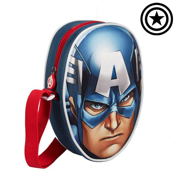 Image of   3D Captain America Rygsæk (Avengers)