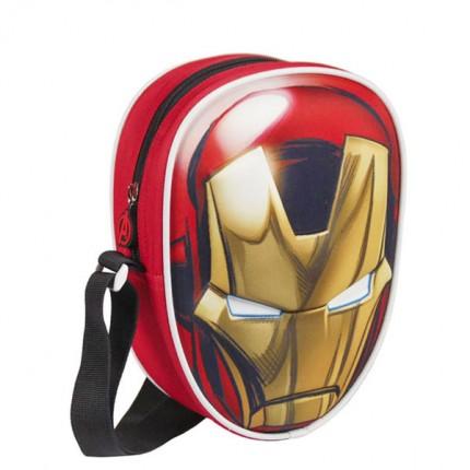 Image of   3D Iron Man Rygsæk (Avengers)