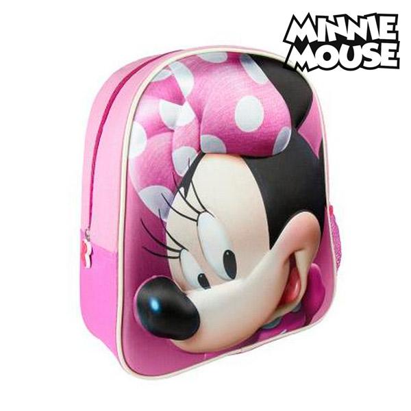 Image of   3D Skoletaske Minnie Mouse 8096