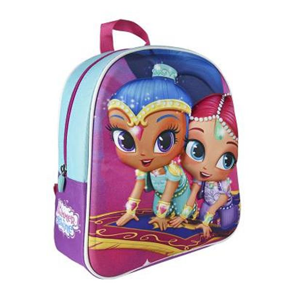 Image of   3D Skoletaske Shimmer and Shine