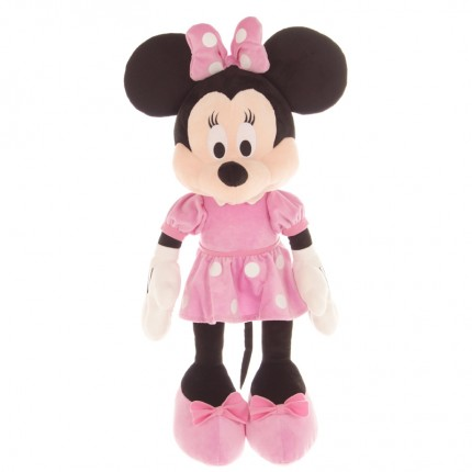 Image of   Disney Klubhus Blød Bamse - Minnie Mouse 61 cm