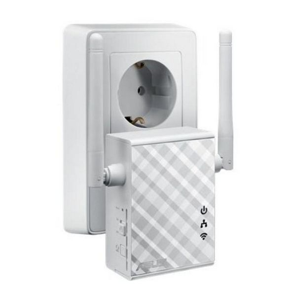Image of   Access Point Repeater Asus 90IG01X0-BO210 N300 10 / 100 Mbps 2 x 2 dBi