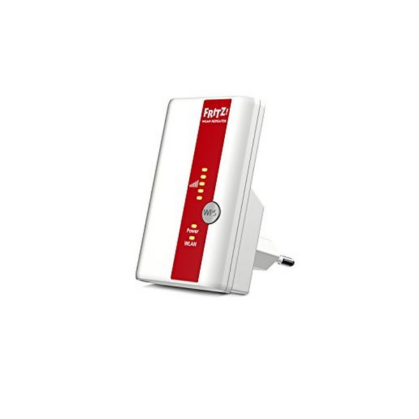 Image of   Access Point Repeater Fritz! N300 300 Mbps WIFI WPS Hvid