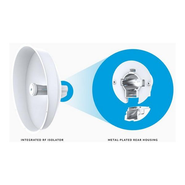 Image of   Adgangspunkt UBIQUITI PBE-M5-400-ISO PowerBeam Airmax 5 GHz