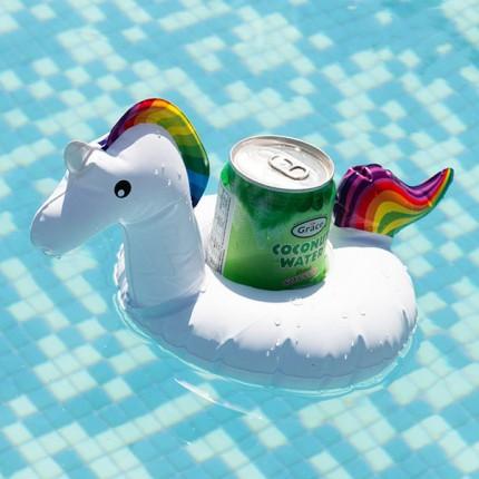 Image of   Adventure Goods Oppustelig Støtte til Drinks Enhjørning