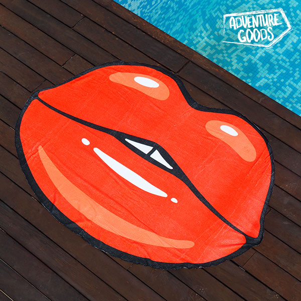Image of   Adventure Goods Strandhåndklæde Kys