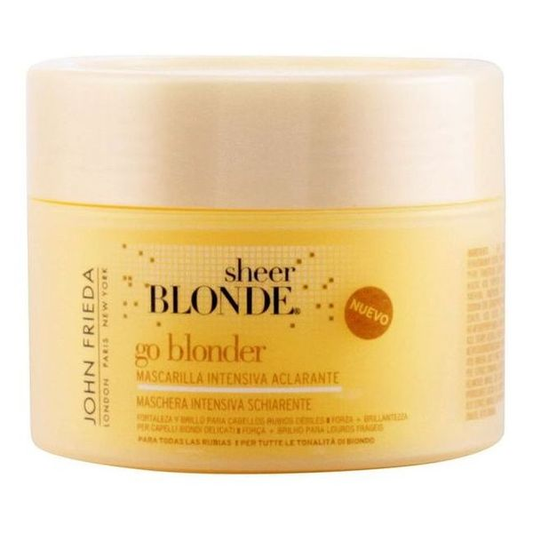 Image of   Afblegende hårmaske til blond hår Sheer Blonde John Frieda