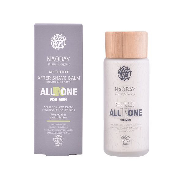 Image of   Aftershave Balsam All In One Naobay (100 ml)