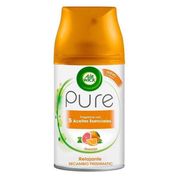 Image of Air Wick FreshMatic Pure Afslappende Appelsin Luftfrisker Genopfyldning 250 ml