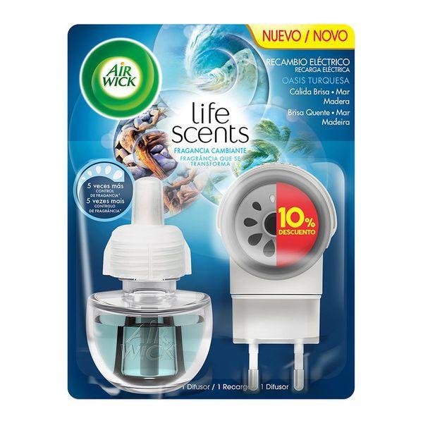 Image of Air Wick Life Scents Turquoise Oasis Elektrisk Luftfrisker