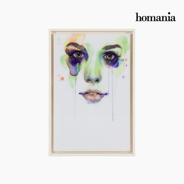 Image of   Akrylmaleri (42 x 4 x 62 cm) by Homania