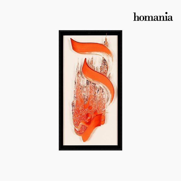 Image of   Akrylmaleri (62 x 4 x 122 cm) by Homania