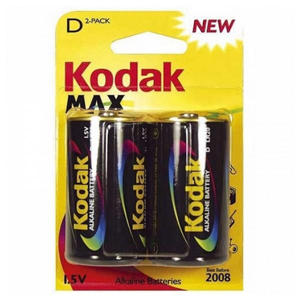 Image of   Alkaline Batteri Kodak LR20 1,5 V (2 pcs)
