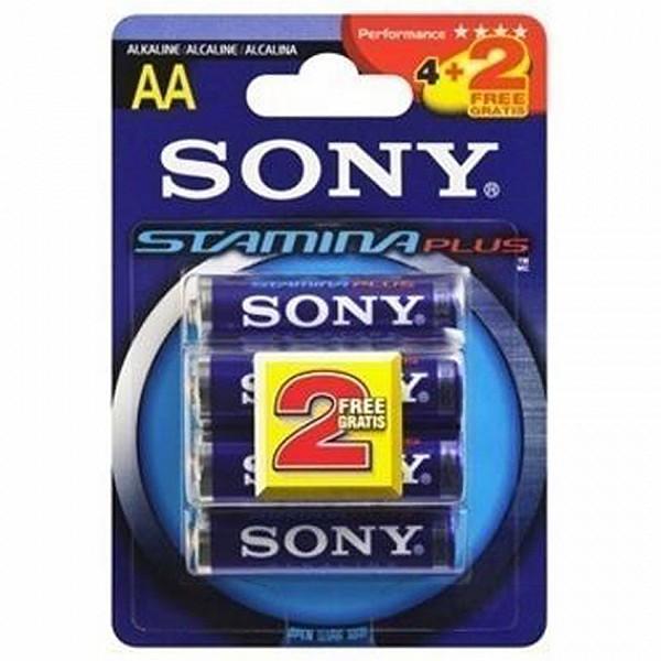 Image of   Alkaline Batteri Sony 220512 1,5 V AAA Blå