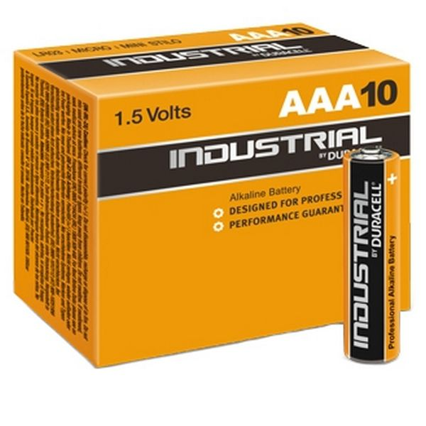 Image of   Alkalinebatterier DURACELL Industrial DURINDLR3C10 LR03 AAA 1.5V (10 pcs)