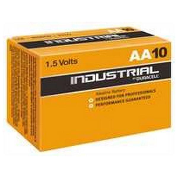 Image of   Alkalinebatterier DURACELL Industrial DURINDLR6C10 LR6 AA 1.5V (10 pcs)