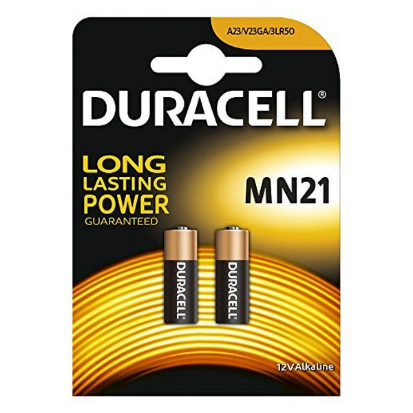 Image of   Alkalinebatterier DURACELL Security DRB212 MN21 12V 1.5W (2 pcs)
