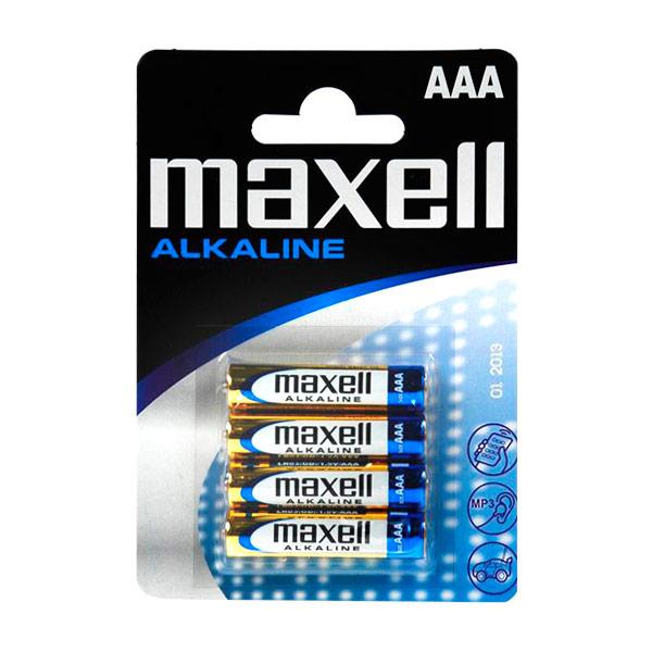 Image of   Alkalinebatterier Maxell LR03-MN2400 AAA 1,5 V