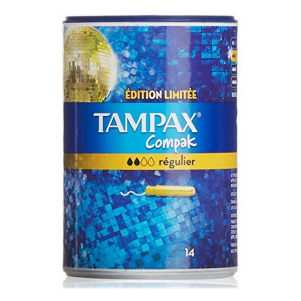 Image of   Almindelig tamponer Compak Tampax (14 uds)