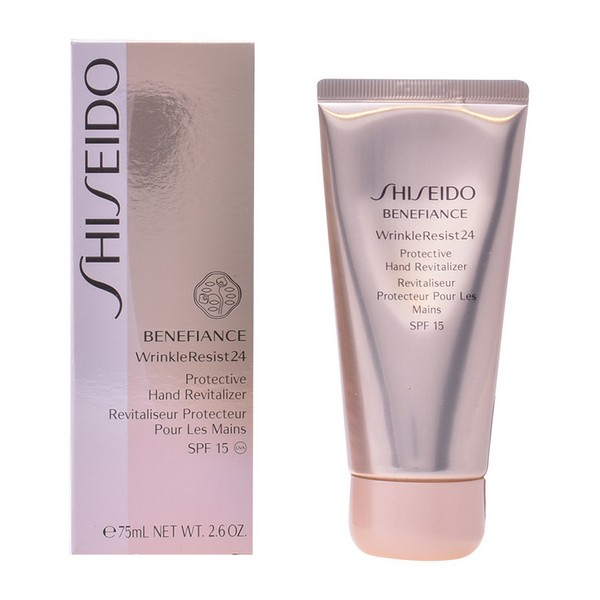 Image of   Anti-Age Håndcreme Benefiance Wrinkler Shiseido SPF 15 (75 ml)