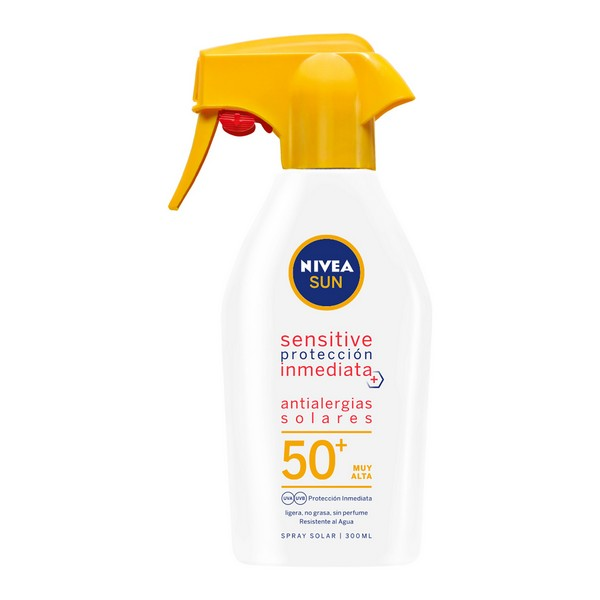Image of   Anti allergi Solbeskyttelse Spray Sensitive Nivea (300 ml)