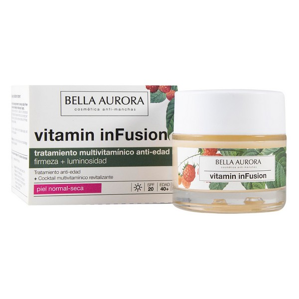Image of   Anti-Rynke Behandling Vitamin Infusion Bella Aurora (50 ml)