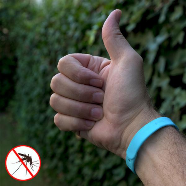 Image of   Antimyg-armbånd med citron (Pakke med 3)