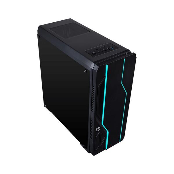 Image of   ATX-miditower case med kortlæser Hiditec V10 RGB