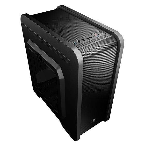 Image of   ATX mikro kasse Aerocool ICACMM0180 QS240 USB 3.0 Sort