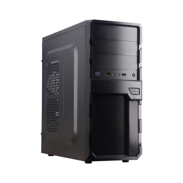 Image of   ATX Semi-tårn kasse med strømføder CoolBox F200