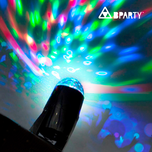 Image of   B Party Multifarvet LED Projektor