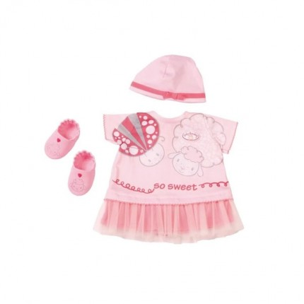 Image of   Baby Annabell Deluxe Sommersæt med sko