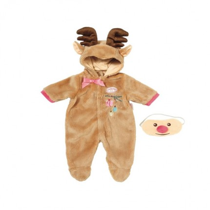 Image of   Baby Annabell Dlx Set Reindeer 43 cm