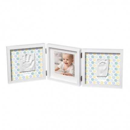 Image of   Baby Art My Baby Style Dobbelt Print Ramme Mr & Mrs Clynk