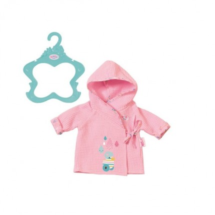 Image of   BABY Born Bathrobes Pink 43cm