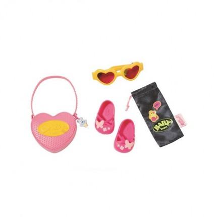 Image of   BABY Born Boutique taske og sko sæt