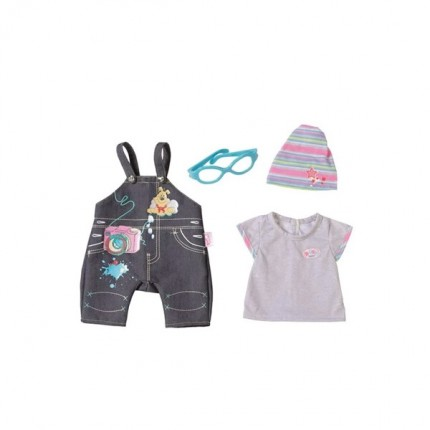 Image of   BABY Born Deluxe Jeans Collection Overalls