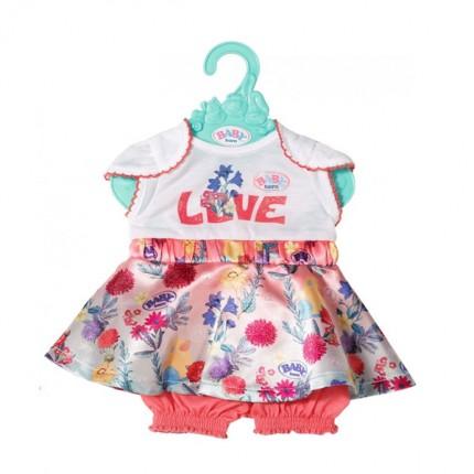 Image of   BABY Born Dukkekjole Love Blomster