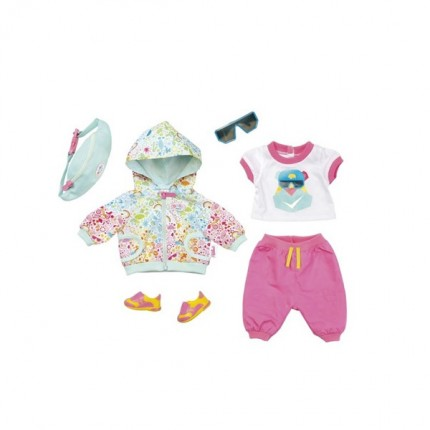 Image of   BABY Born Play & Fun Deluxe Biker Outfit