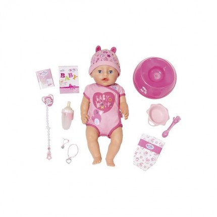 Image of   BABY Born Soft Touch Girl Blå Øjne