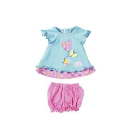 Image of   Baby Born Sommerfugle kjole blå