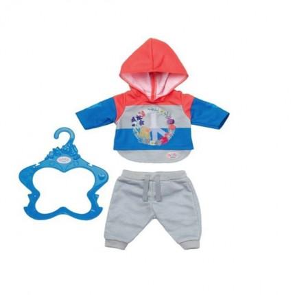Image of   BABY Born Trend Jogginsæt Blå