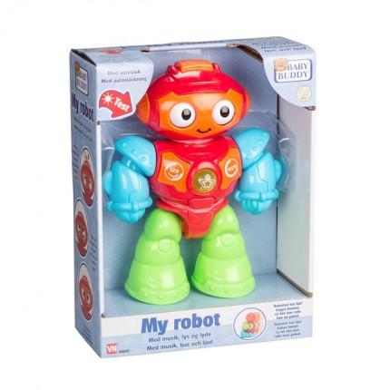 Image of   Baby Buddy Robot med lyd og lys