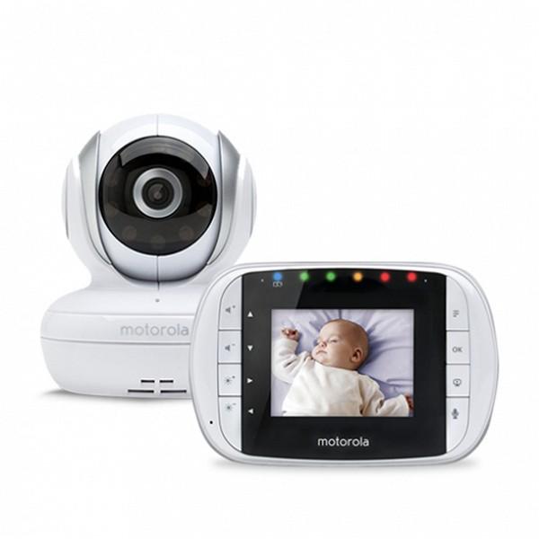"""Image of   Babyalarm Motorola 223419 2,8"""" 2.4GHz Hvid"""