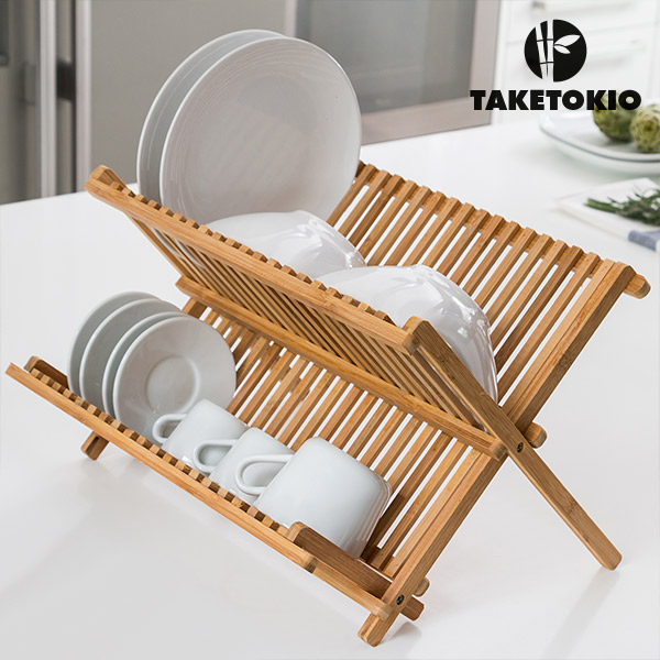 Image of   Bambus Opvask Stativ