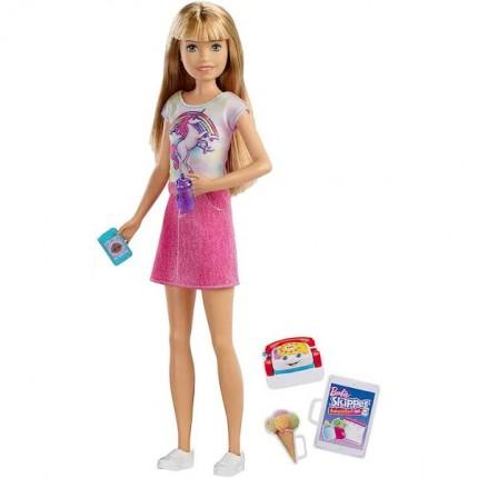Image of   Barbie Babysitter Skipper Med Tilbehør